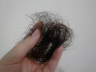 tufa de cabelo